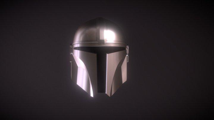 The Mandalorian Helmet 3D Model