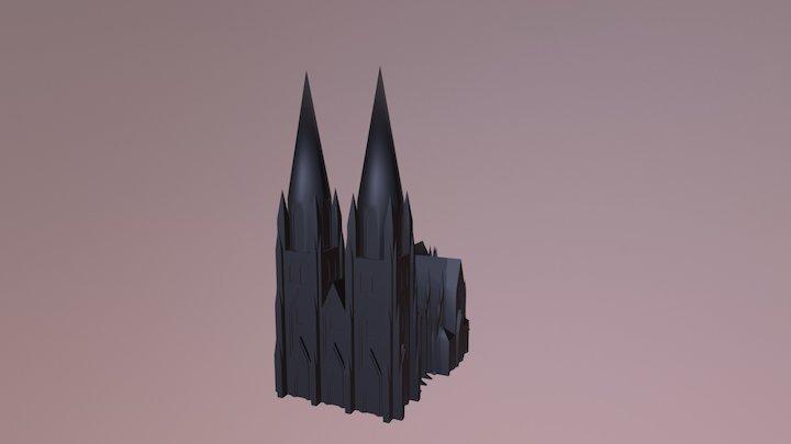 Cologne Catherdal - Cologne 3D Model