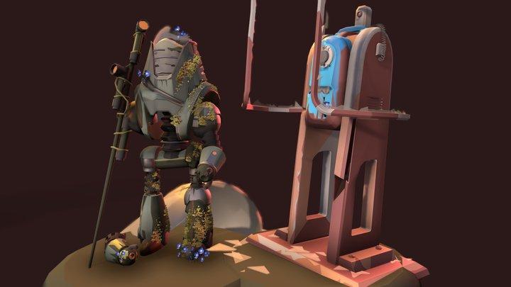 Protectrom_crush_Fallout_4 3D Model