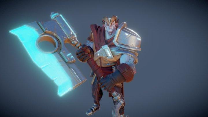 Osprey Captain - Shardbound 3D Model