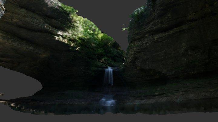 Cascade Falls 3D Model