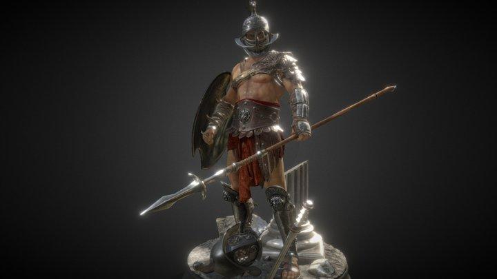 Gladiator Arena 3D Model