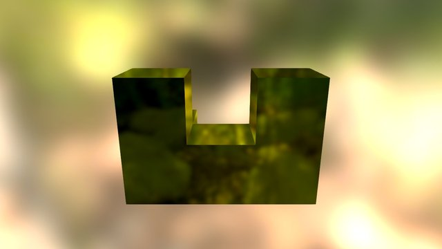 Yellow Embed 3D Model