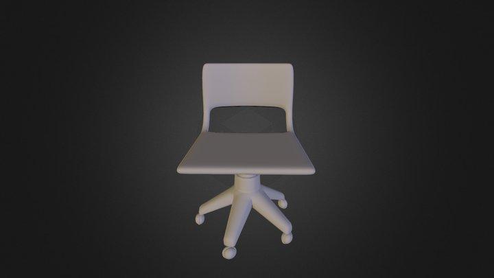 Silla de oficina 3D Model