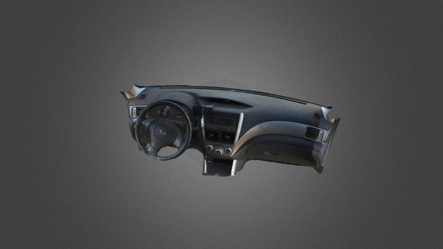 Dashboard 3D Model