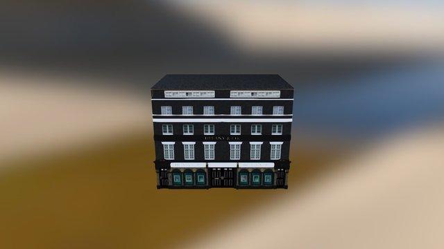 Tiffany's & Co London 3D Model