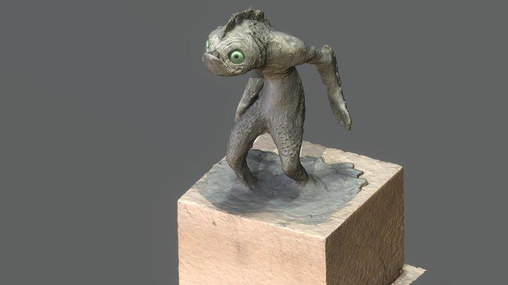 Deep one 3D Model