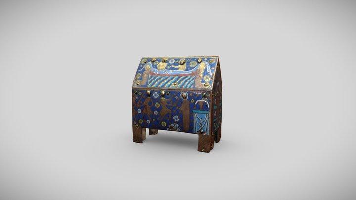 Châsse-reliquaire de saint Thomas Becket, OA 4 3D Model