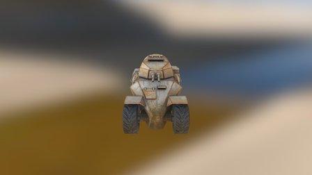 Mad Max Texturing Assignment 3D Model
