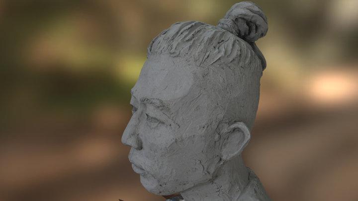 Olga Sculpture Shot2 3D Model