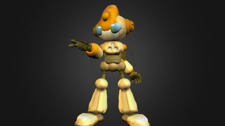 Emerl the Gizoid 3D Model