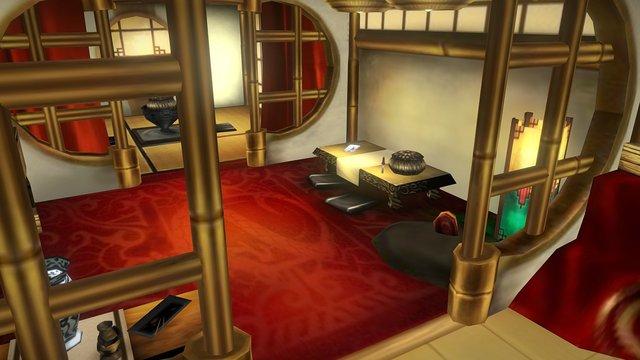 Oriental House 2 3D Model