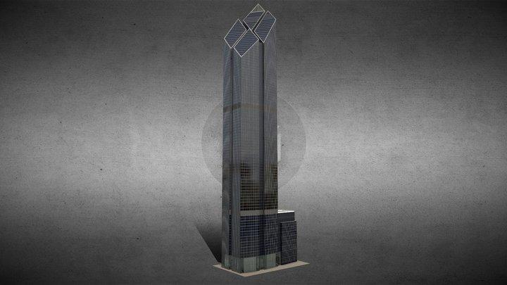 200 Greenwich Street Tower - New York 3D Model