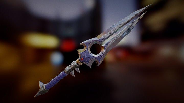Thunderfury Legendary Weapon 3D Model