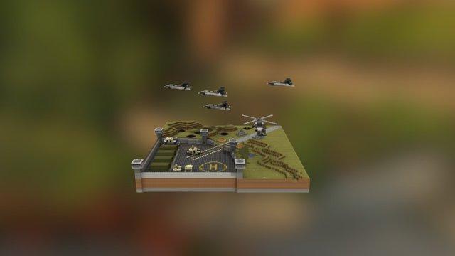 Military Camp (InchiBattle [1.8] [v2.0]) 3D Model