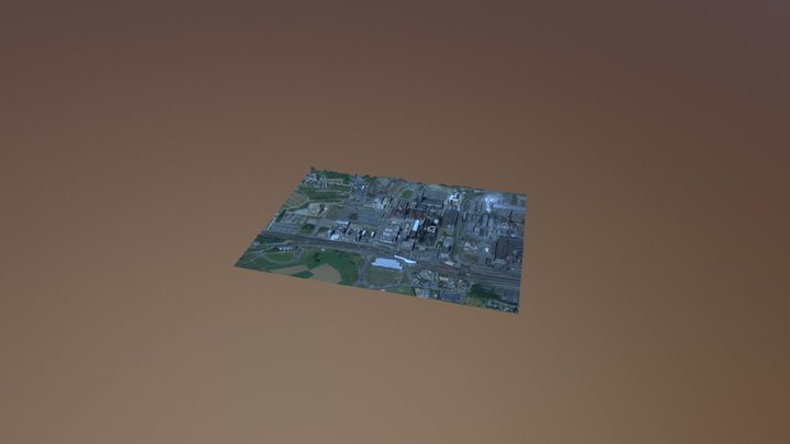 Belval SquareMile - Version 0 (2016) 3D Model