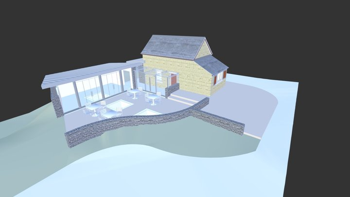 174 Visitor Centre Extension 3D Model