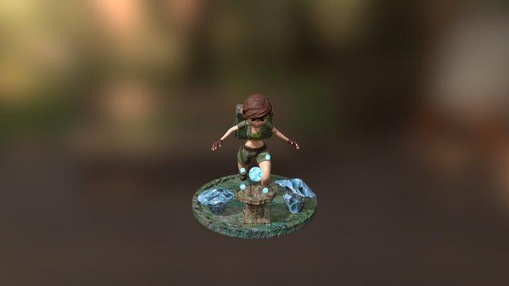 Stylized Character 3D Model
