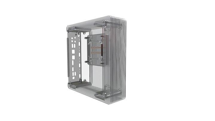 cirrus7 nimbus v2 - improved cooling technique 3D Model