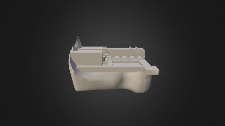 ROA Fire Library Wenkrogg 3D Model