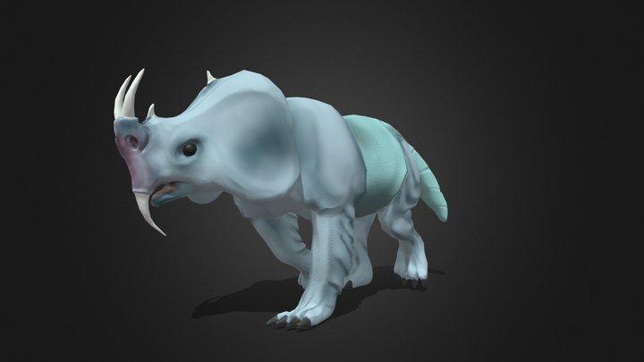 Bermuda Rhino 3D Model