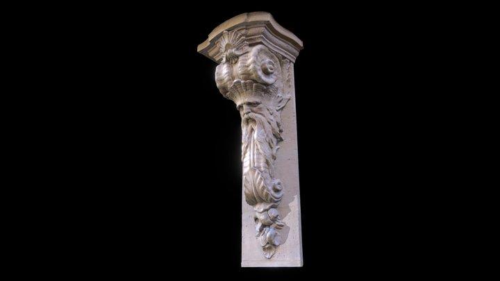 Corbel, Rue de Braque, No.1 3D Model
