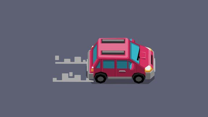 Anytown: Garage Sale Monsters - Car 01 3D Model
