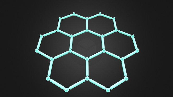 Honeycomb 3D Model