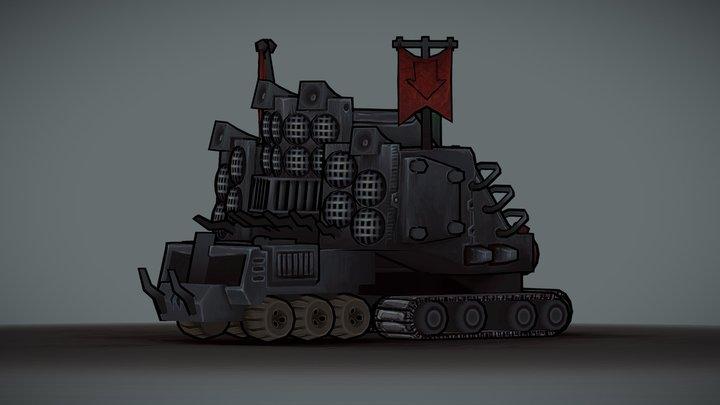 Battle Wagon 3D Model
