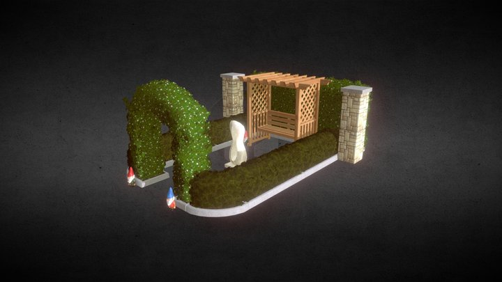 Garden Decorations 3D Model