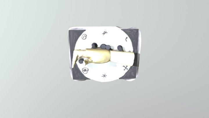 Right Hand Rule 1st Obj 3D Model