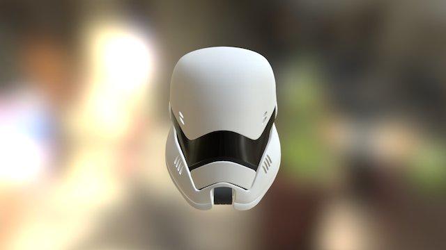 Concept Stormtrooper Helmet 3D Model