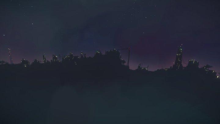 Skybox - A Final Dawn 3D Model