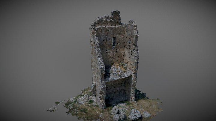 Torre di Montecorvino (Volturino, FG) 3D Model