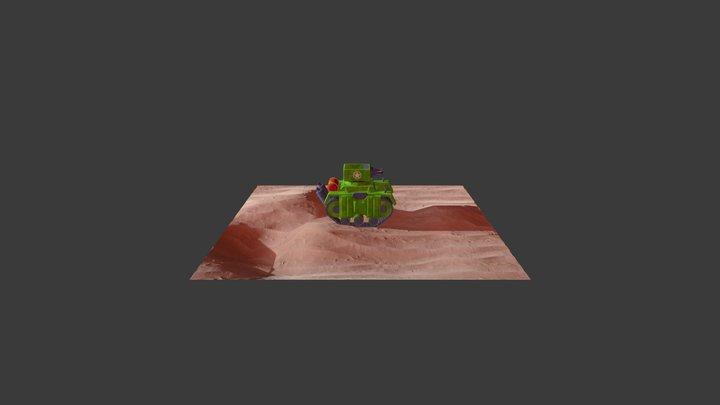 VR Tank 3D Model