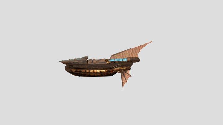 Airship Assignment 6 3D Model