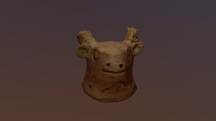 Achziv Mask 1 3D Model