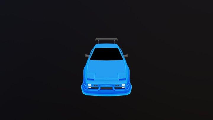 180SX-uv 3D Model