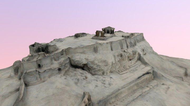 Plan en relief de l'acropole - MuMo Lyon 2 3D Model