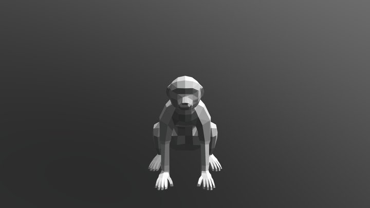 Macaco 3D Model