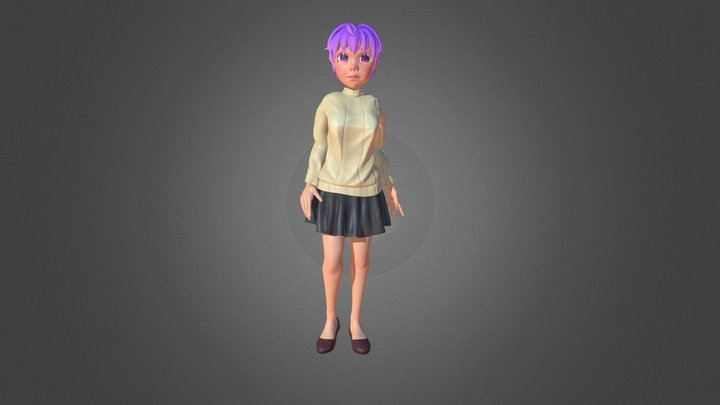 3d character 06 3D Model