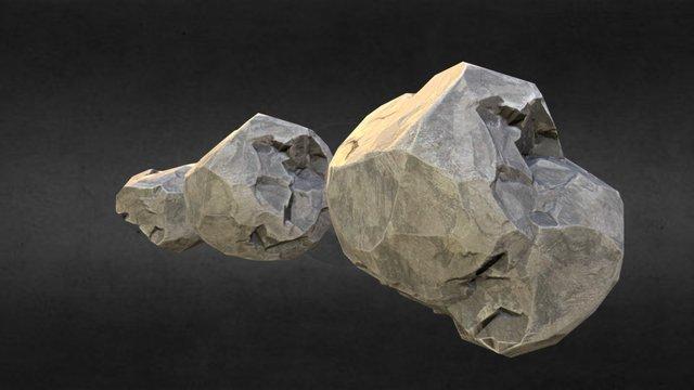 Rock 001 (WIP) 3D Model