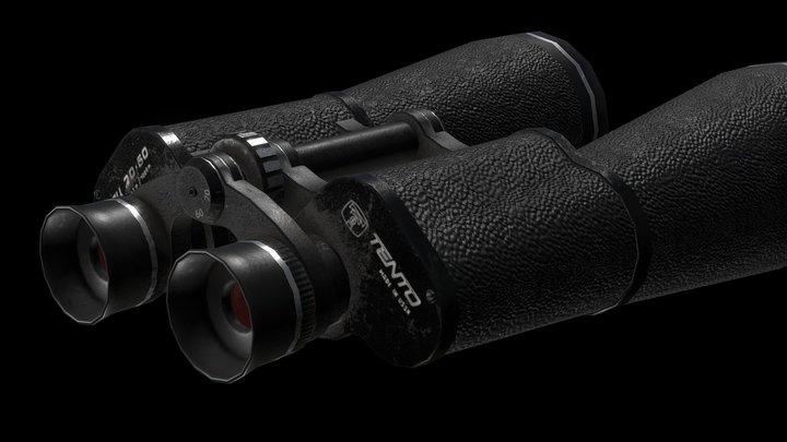 Tento binocular 3D Model