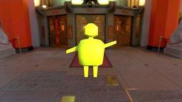 Bob - Awesome programmer art 3D Model