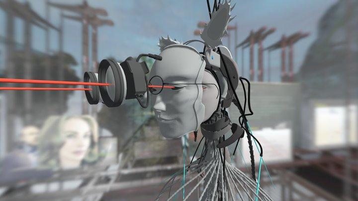 NøøPhidia, créature imaginaire de Yann Minh 3D Model