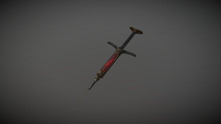 Re-animator Syringe 3D Model