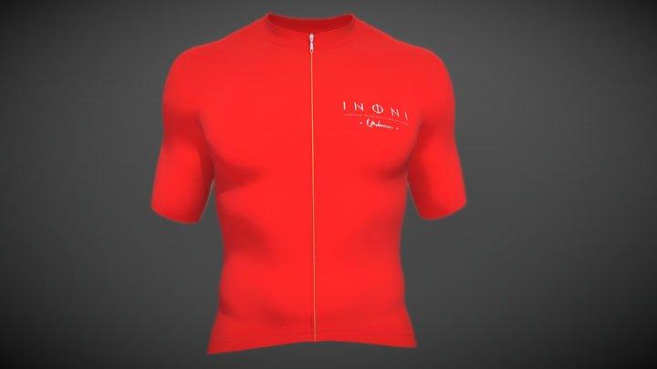 Jersey red mind 3D Model