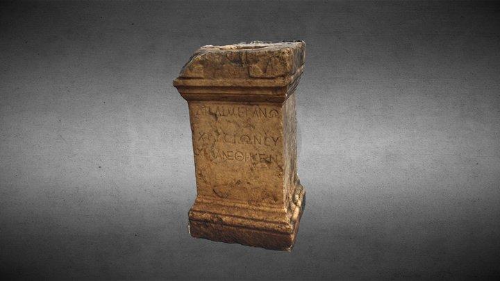 Roman altar 3D Model