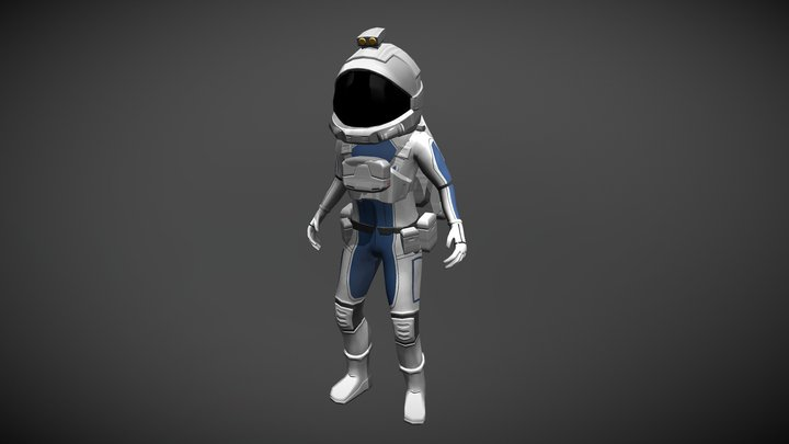 Lab Runner - Playable Character (Jeff Armstrong) 3D Model