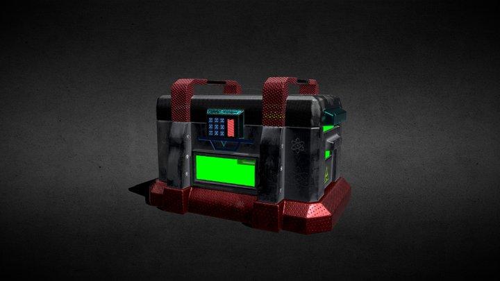 Contenedor 3D Model